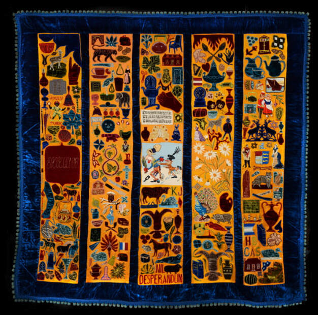 Bellamy Quilt, copyright Norfolk Museums Service